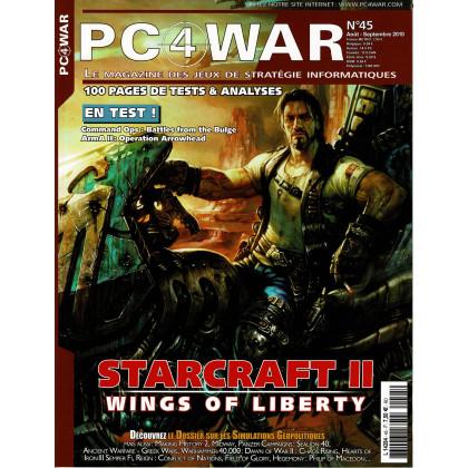 PC4WAR N° 45 (Le Magazine des Jeux de Stratégie informatiques) 001