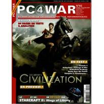 PC4WAR N° 46 (Le Magazine des Jeux de Stratégie informatiques)