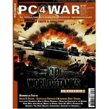 PC4WAR N° 47 (Le Magazine des Jeux de Stratégie informatiques) 001