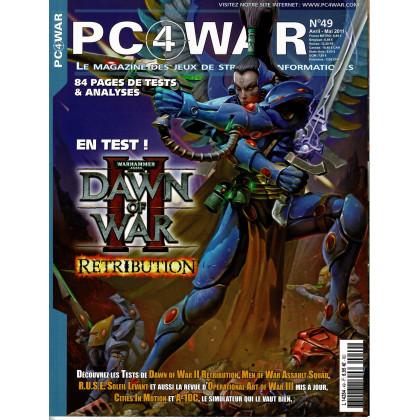 PC4WAR N° 49 (Le Magazine des Jeux de Stratégie informatiques) 001