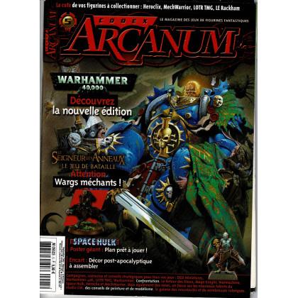 Codex Arcanum N° 5 (magazine des jeux de figurines fantastiques en VF) 001