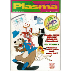 Plasma N° 13 (magazine des jeux de rôles des éditions Siroz)