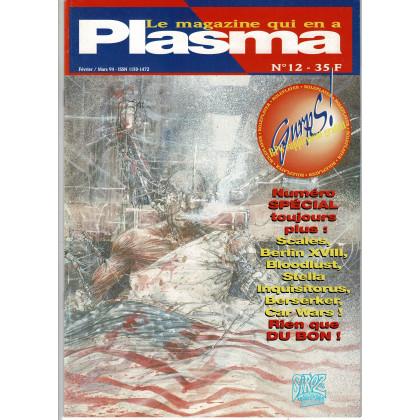 Plasma N° 12 (magazine des jeux de rôles des éditions Siroz) 002
