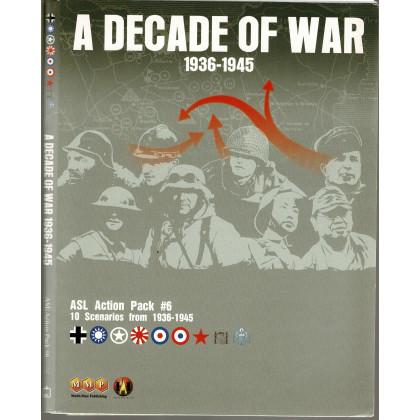 ASL Action Pack 6 - A Decade of War 1936-1945 (wargame Advanced Squad Leader de MMP en VO) 001