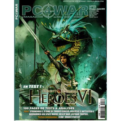 PC4WAR N° 53 (Le Magazine des Jeux de Stratégie informatiques) 001