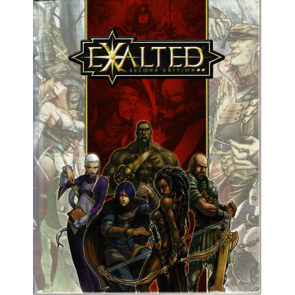 Exalted - Roleplaying Game Second Edition (jdr White Wolf en VO) 001