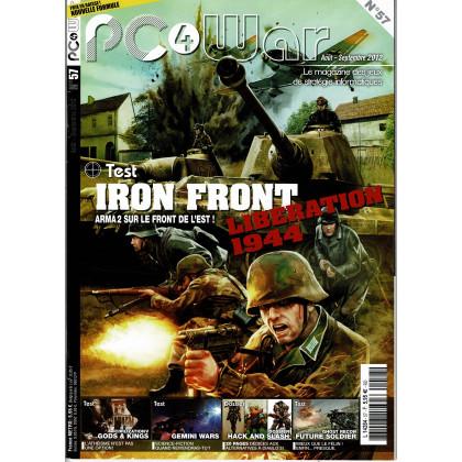 PC4WAR N° 57 (Le Magazine des Jeux de Stratégie informatiques) 001