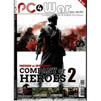 PC4WAR N° 60 (Le Magazine des Jeux de Stratégie informatiques) 001