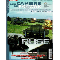 Les Cahiers de PC4WAR N° 1 (Le Magazine des Jeux de Stratégie informatiques) 001