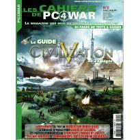 Les Cahiers de PC4WAR N° 2 (Le Magazine des Jeux de Stratégie informatiques) 001