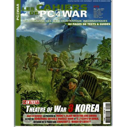 Les Cahiers de PC4WAR N° 4 (Le Magazine des Jeux de Stratégie informatiques) 001