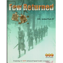 ASL Action Pack 3 - Few Returned (wargame Advanced Squad Leader de MMP en VO) 001
