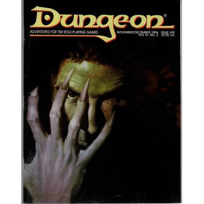 Dungeon N° 50 (magazine de jeux de rôle TSR en VO) 002