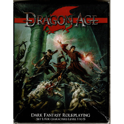 Dragon Age - Set 1 for Characters Level 1 to 5 (boîte de jdr en VO) 002
