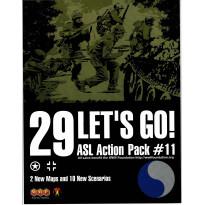 ASL Action Pack 11 - Let's Go! (wargame Advanced Squad Leader de MMP en VO) 001