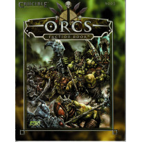 Crucible - Orcs Faction Book (Jeu de figurines Fasa en VO) 001