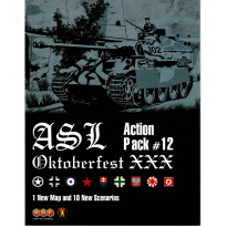 ASL Action Pack 12 - Oktoberfest XXX (wargame Advanced Squad Leader de MMP en VO)