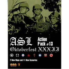 ASL Action Pack 13 - Oktoberfest XXXII (wargame Advanced Squad Leader de MMP en VO)