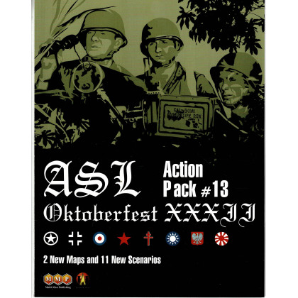 ASL Action Pack 13 - Oktoberfest XXXII (wargame Advanced Squad Leader de MMP en VO) 001