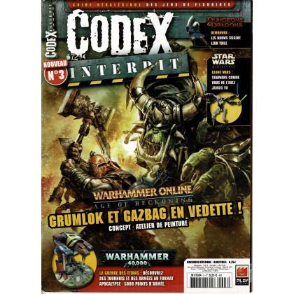 Codex Interdit N° 3 (guide stratégique des jeux de figurines en VF) 001