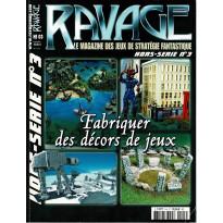 Ravage N° 3 Hors-Série - Fabriquer des décors de jeux (le Magazine des Jeux de Stratégie Fantastique) 001