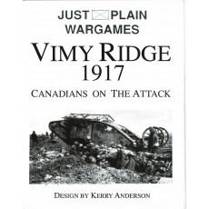 Vimy Ridge 1917 - Canadians on the Attack (Wargame de Pacific Rim Publishing en VO)