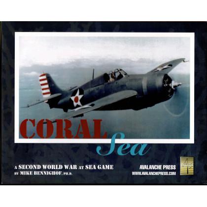 Coral Sea - Second World War at Sea Series (wargame Avalanche Press en VO) 001