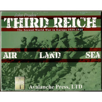 John Prado's Third Reich (wargame Avalanche Press en VO) 001