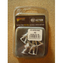 US Airborne HQ (blister figurines Bolt Action en VO)
