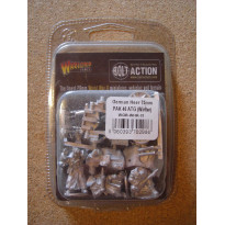 German Heer 75 mm PAK 40 ATG Winter (blister figurines Bolt Action en VO)