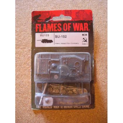 SU123 - SU-152 (blister figurine Flames of War en VO) 001