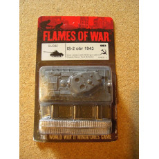SU092 - IS-2 obr 1943 (blister figurine Flames of War en VO)