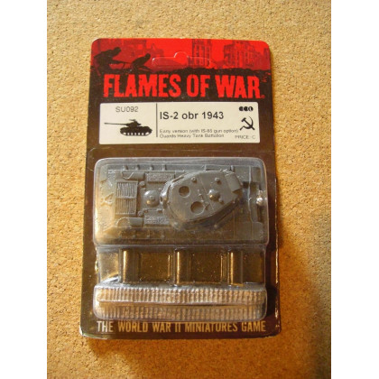 SU092 - IS-2 obr 1943 (blister figurine Flames of War en VO) 001