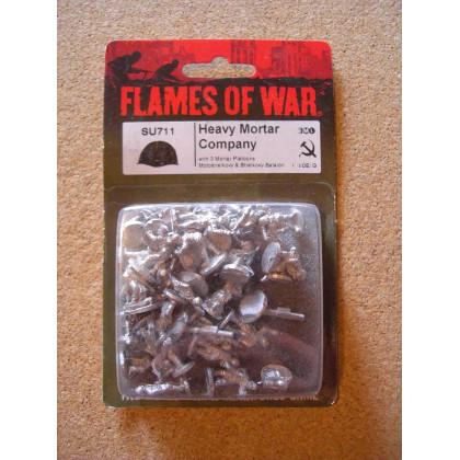 SU711 - Heavy Mortar Company (blister figurines Flames of War en VO) 001