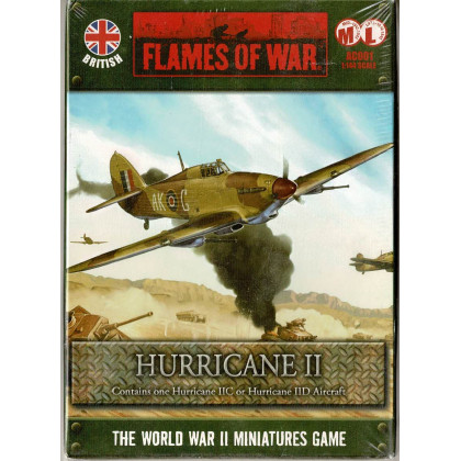 AC001 - Hurricane II (boîte figurine Flames of War en VO) 002
