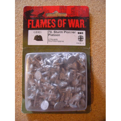 GE821 - 78. Sturm Pioneer Platoon (blister figurines Flames of War en VO) 001
