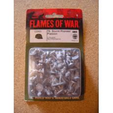 GE821 - 78. Sturm Pioneer Platoon (blister figurines Flames of War en VO)
