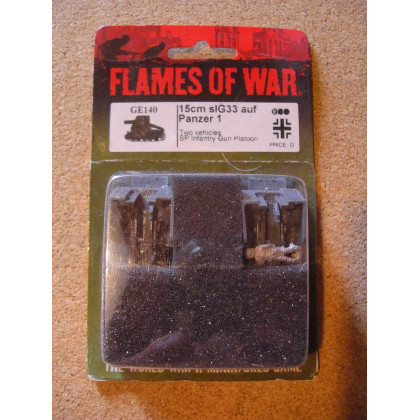 GE140 - 15 cm sIG33 auf Panzer 1 (blister figurines Flames of War en VO) 002