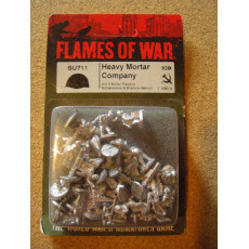 SU711 - Heavy Mortar Company (blister figurines Flames of War en VO)