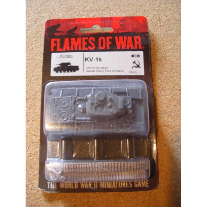 SU083 - KV-1s (blister figurine Flames of War en VO) 002