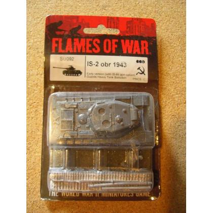 SU092 - IS-2 obr 1943 (blister figurine Flames of War en VO) 002