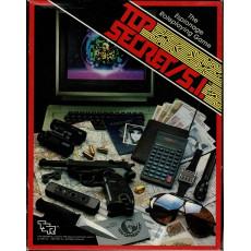 Top Secret / S.I. - The Espionage Roleplaying Game (Boîte de base jdr de TSR en VO)