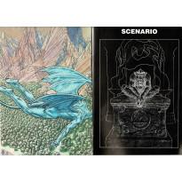 Mimetis - Ecran & livret (jdr éditions des Sept Pierres en VF)