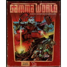 Gamma World - Boîte de base (jdr 2nd edition de TSR en VO)