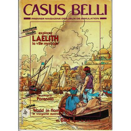 Casus Belli N° 35 - Spécial LAELITH (Premier magazine des jeux de simulation) 004