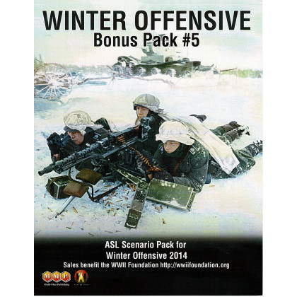 ASL Winter Offensive WO Bonus Pack 5 (wargame Advanced Squad Leader de MMP en VO) 001