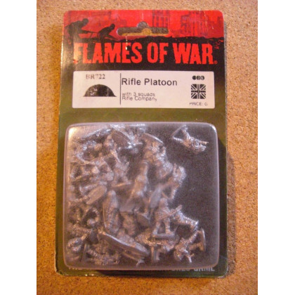 BR722 - Rifle Platoon (blister figurines Flames of War en VO) 001