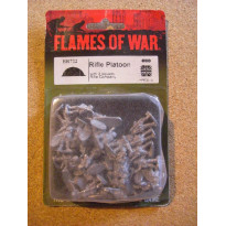 BR722 - Rifle Platoon (blister figurines Flames of War en VO)