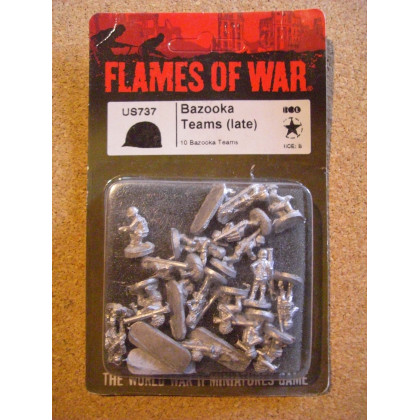US737 - Bazooka Teams Late (blister figurines Flames of War en VO) 002