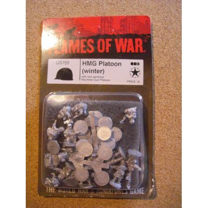 US755 - HMG Platoon Winter (blister figurines Flames of War en VO) 002
